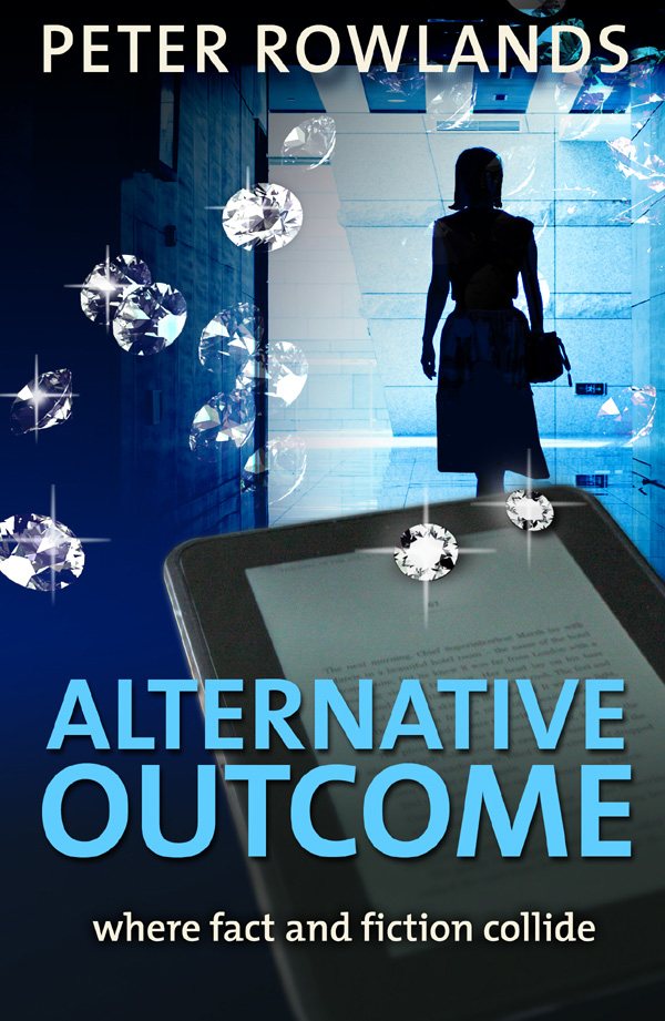 Link to Amazon book page for Alternative Outcome