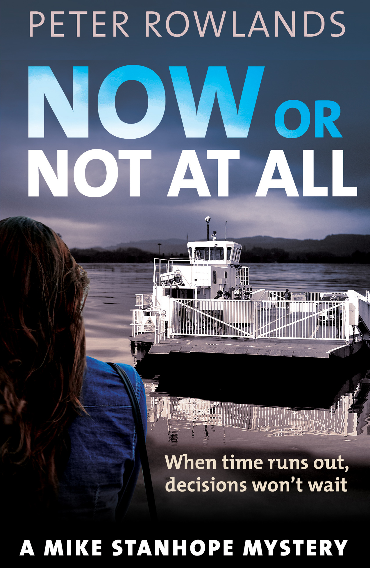 popup|Now or Not at All by Peter Rowlands – taster for front cover (real one may differ!)
