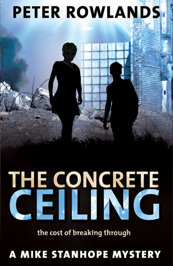 The Concrete Ceiling by Peter Rowlands – taster for front cover (real one may differ!)